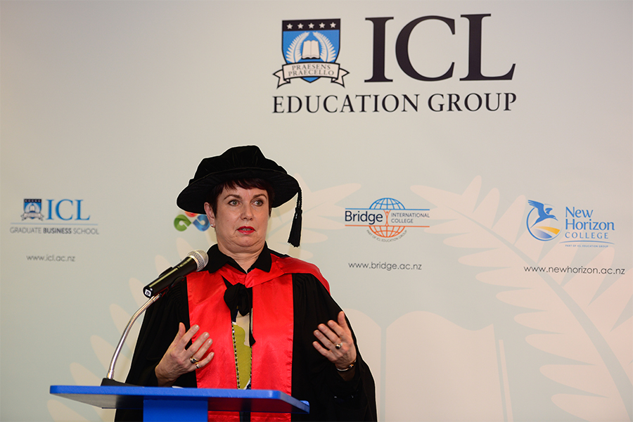 ICL Graduate Business School Graduation